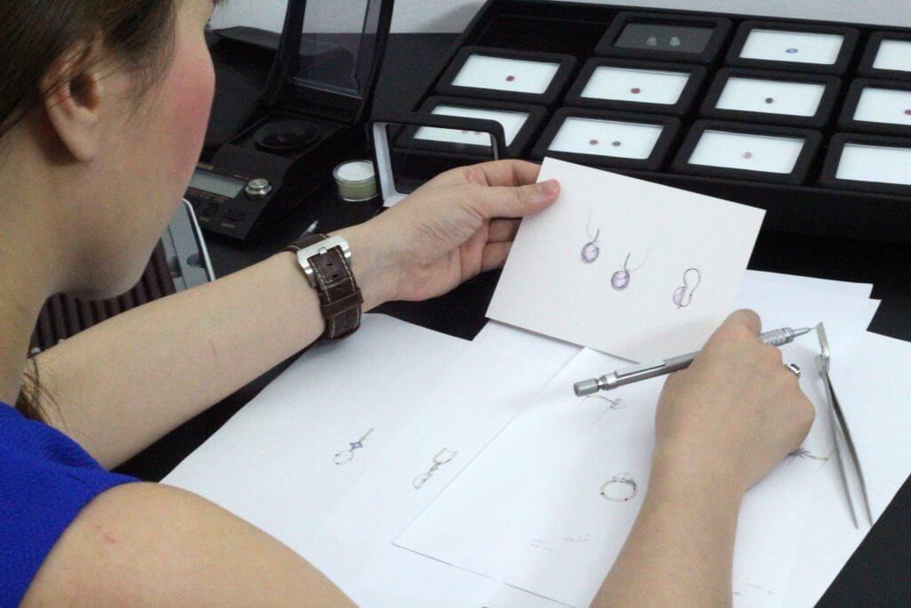 Bespoke customised jewellery