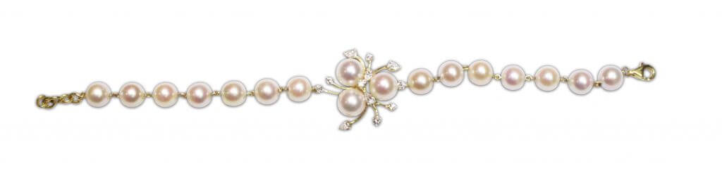 customised jewellery bespoke custom made akoya pearl