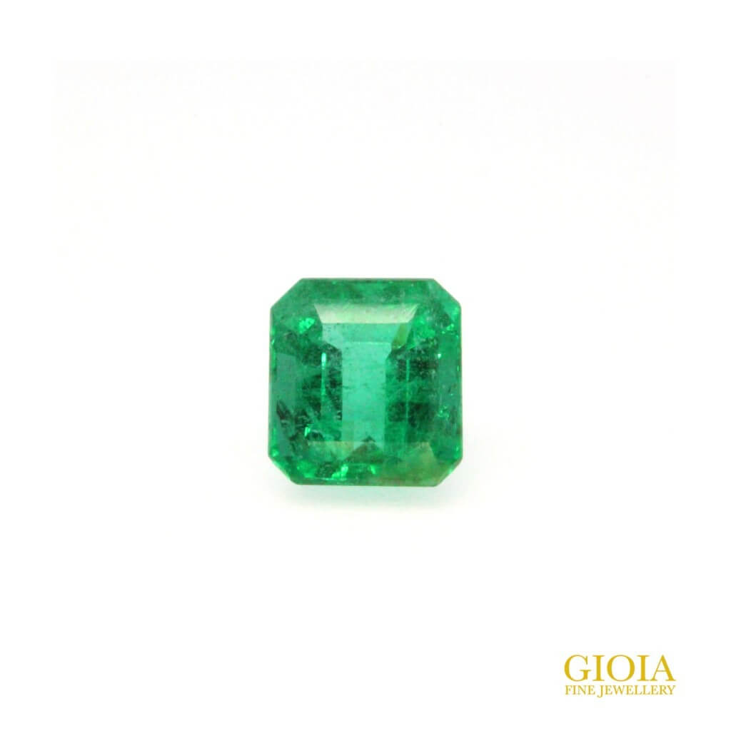 customised gemstone jewellery with Green emerald