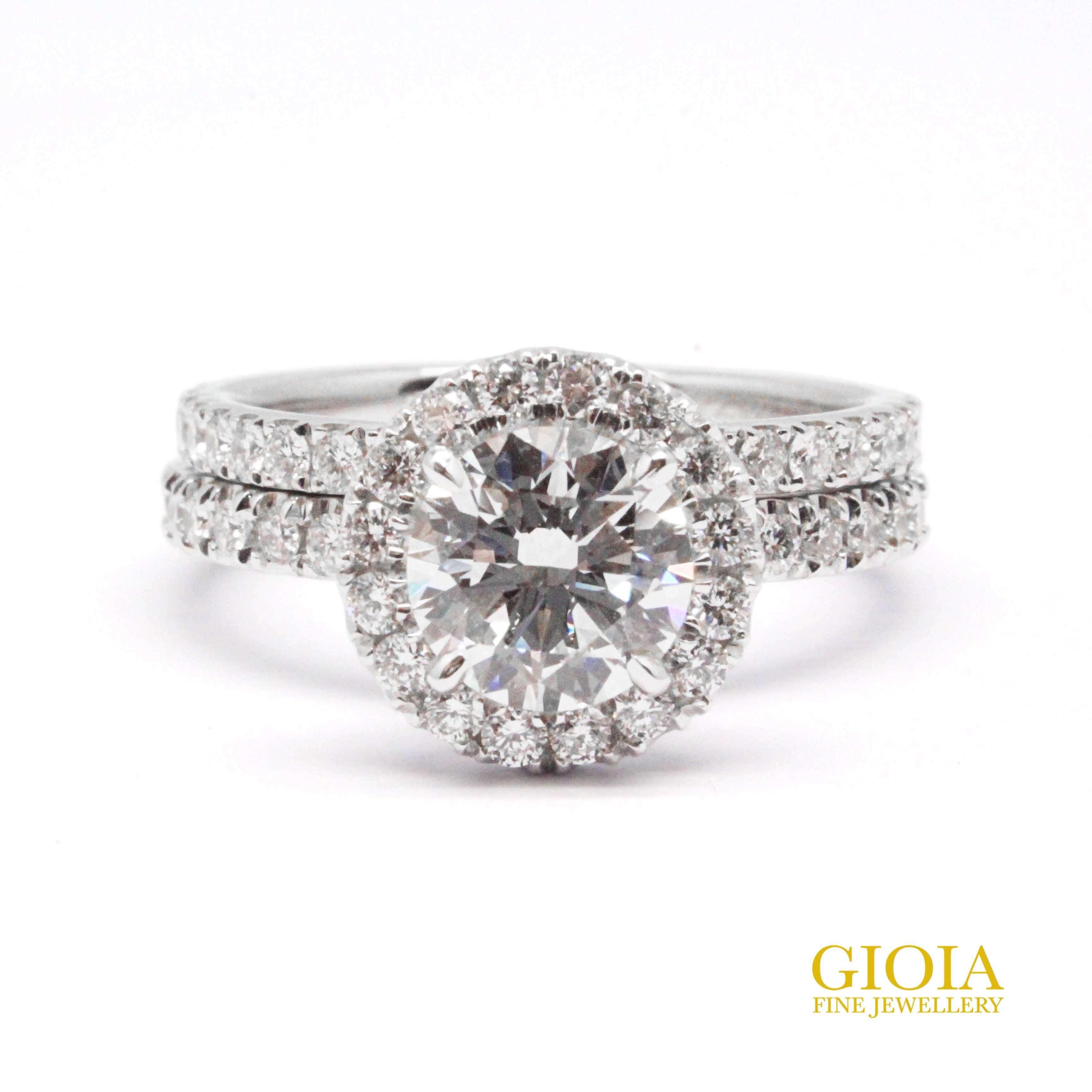 Ideal Diamond Wedding Ring