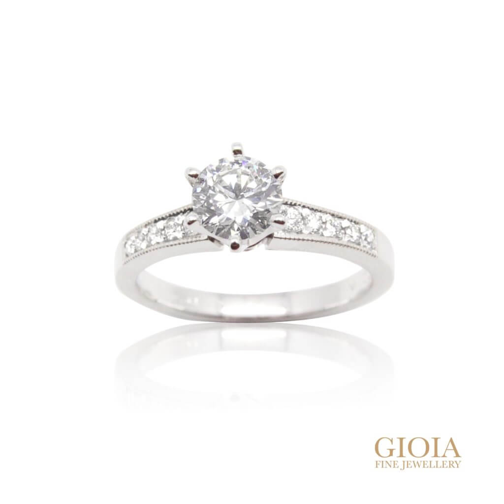 customised diamond engagement Ring