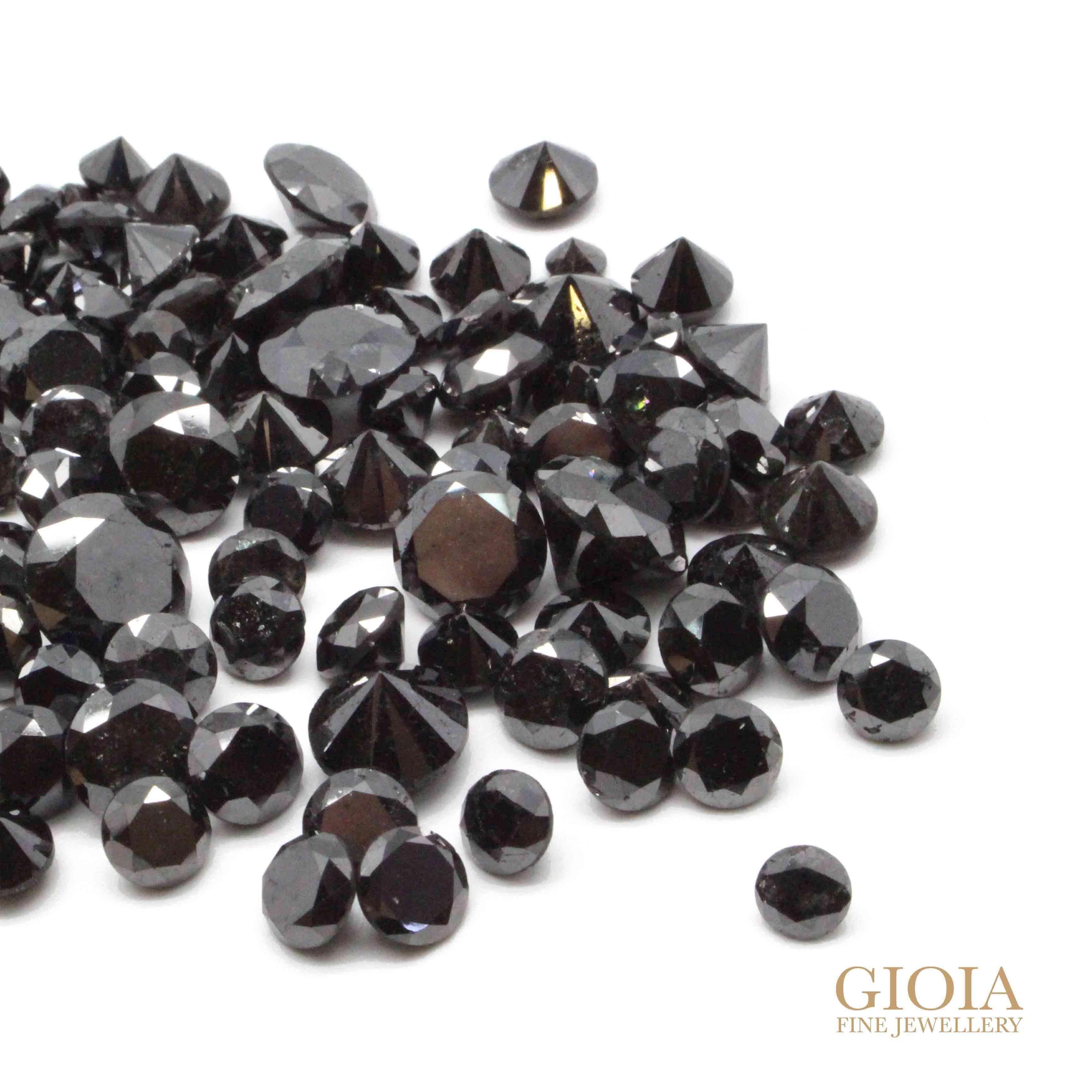 Black Diamond Setting - Customised jewellery