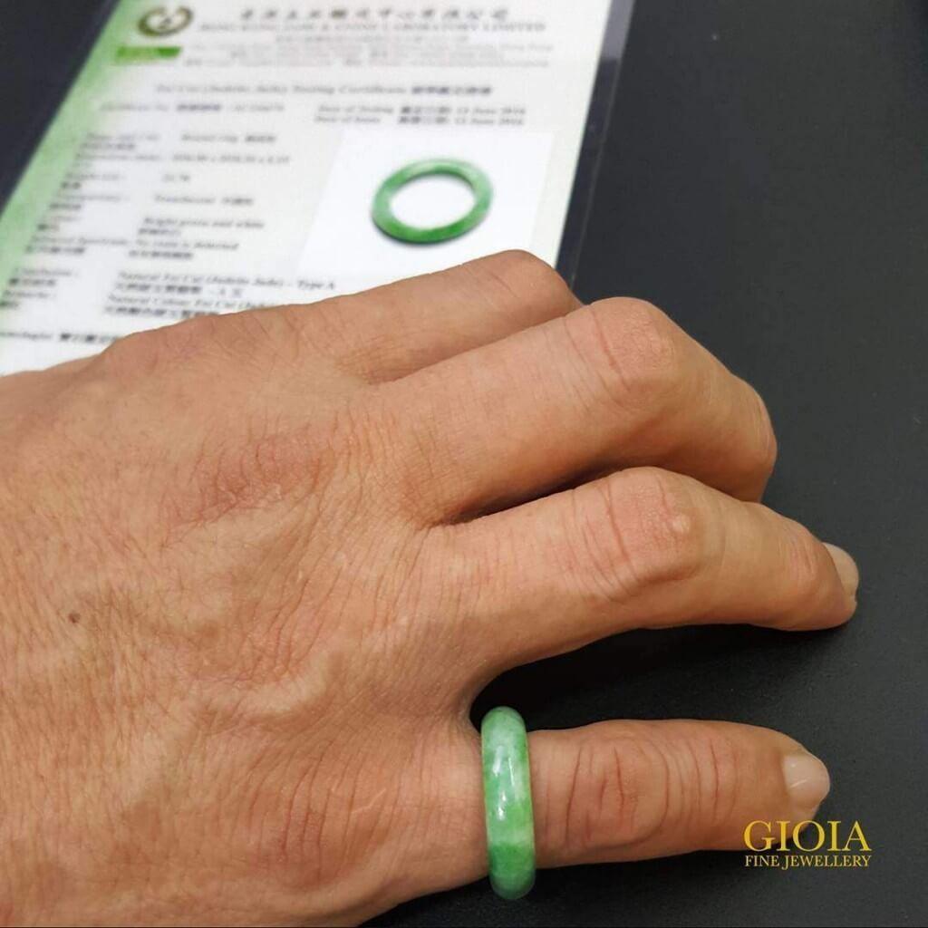 GIOIA Green Jade Ring