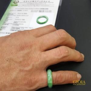 GIOIA Men Green Jade Ring
