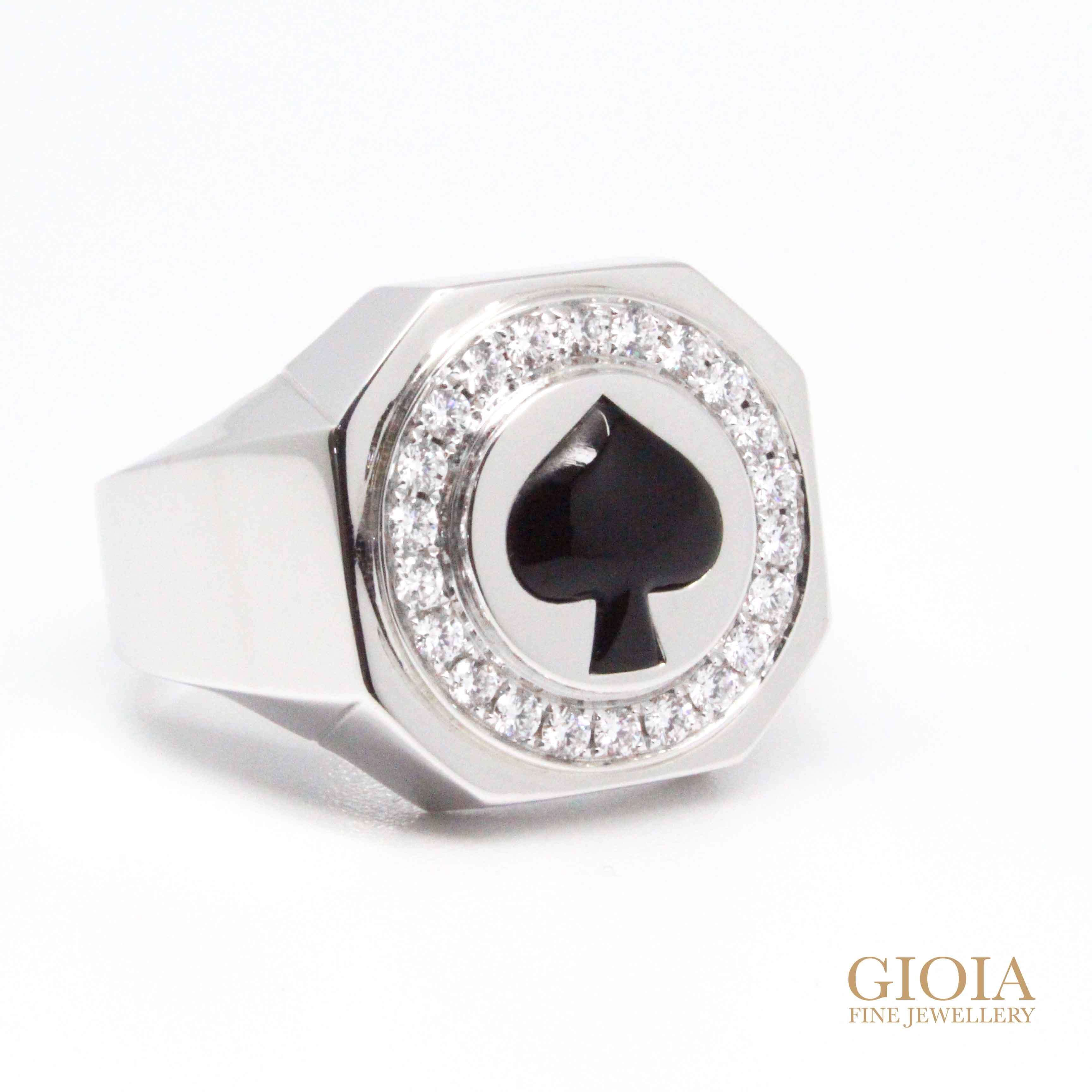 Custom made men ring - Local Singapore Customised Jeweler
