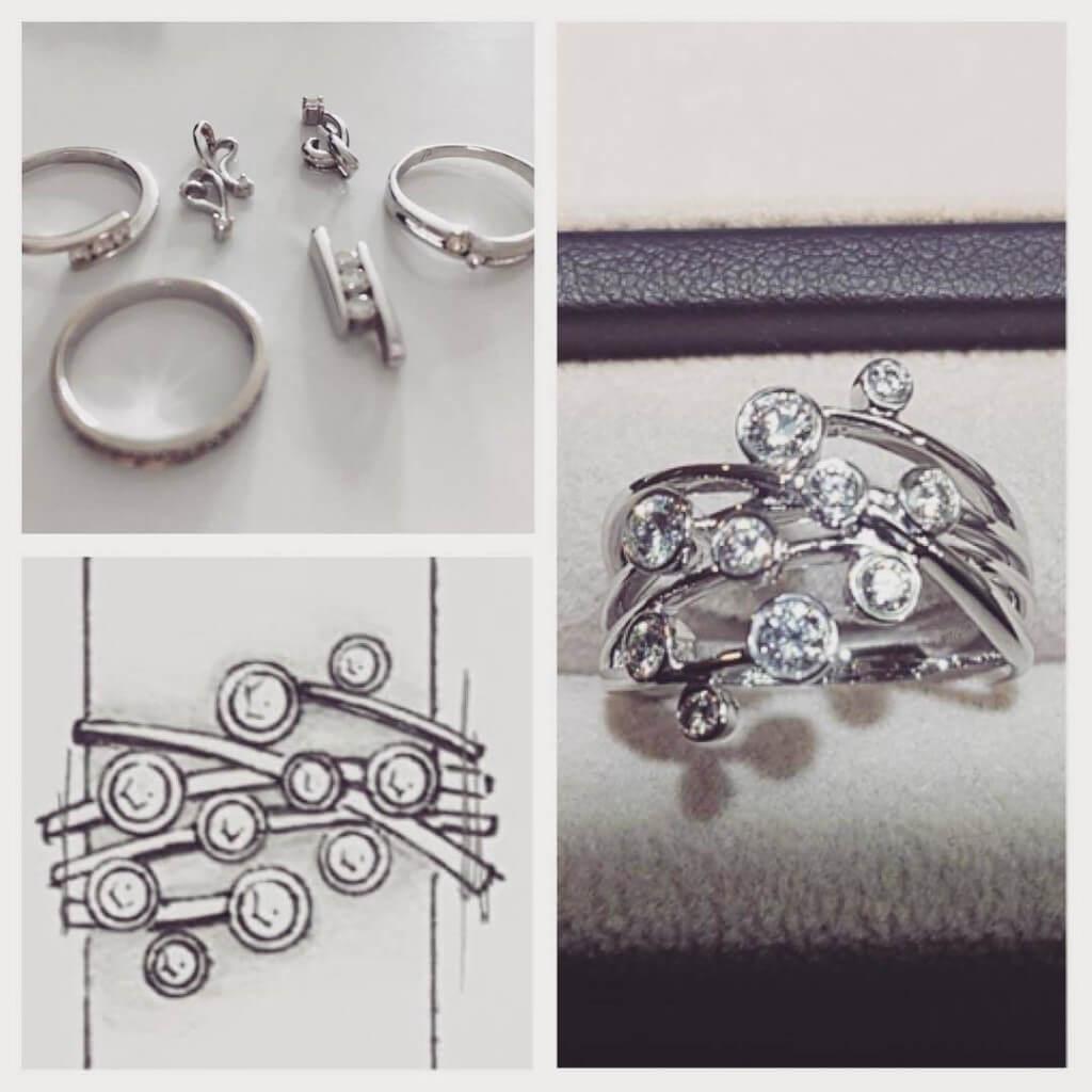 Redesign existing diamond jewelleries | Local Singapore Bespoke Jeweller