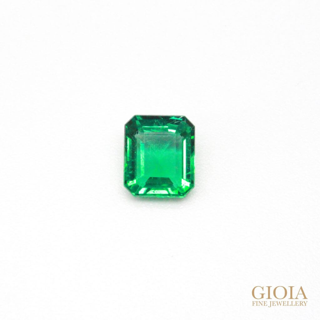 Rare No Oil Green Emerald, without colour or clarity enhance treatment - Unique coloured Gemstone - Local Singapore custom made Jeweller for Fine Jewellery