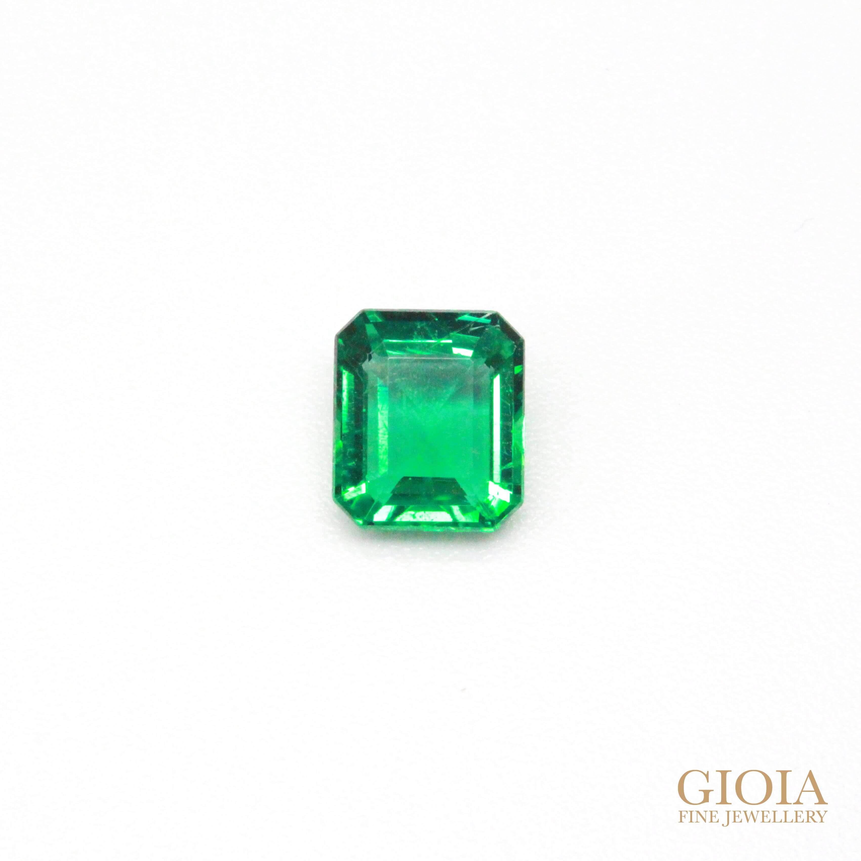Rare No Oil Emerald, without colour or clarity enhance treatment Gemstone - Local Singapore custom made Jeweller