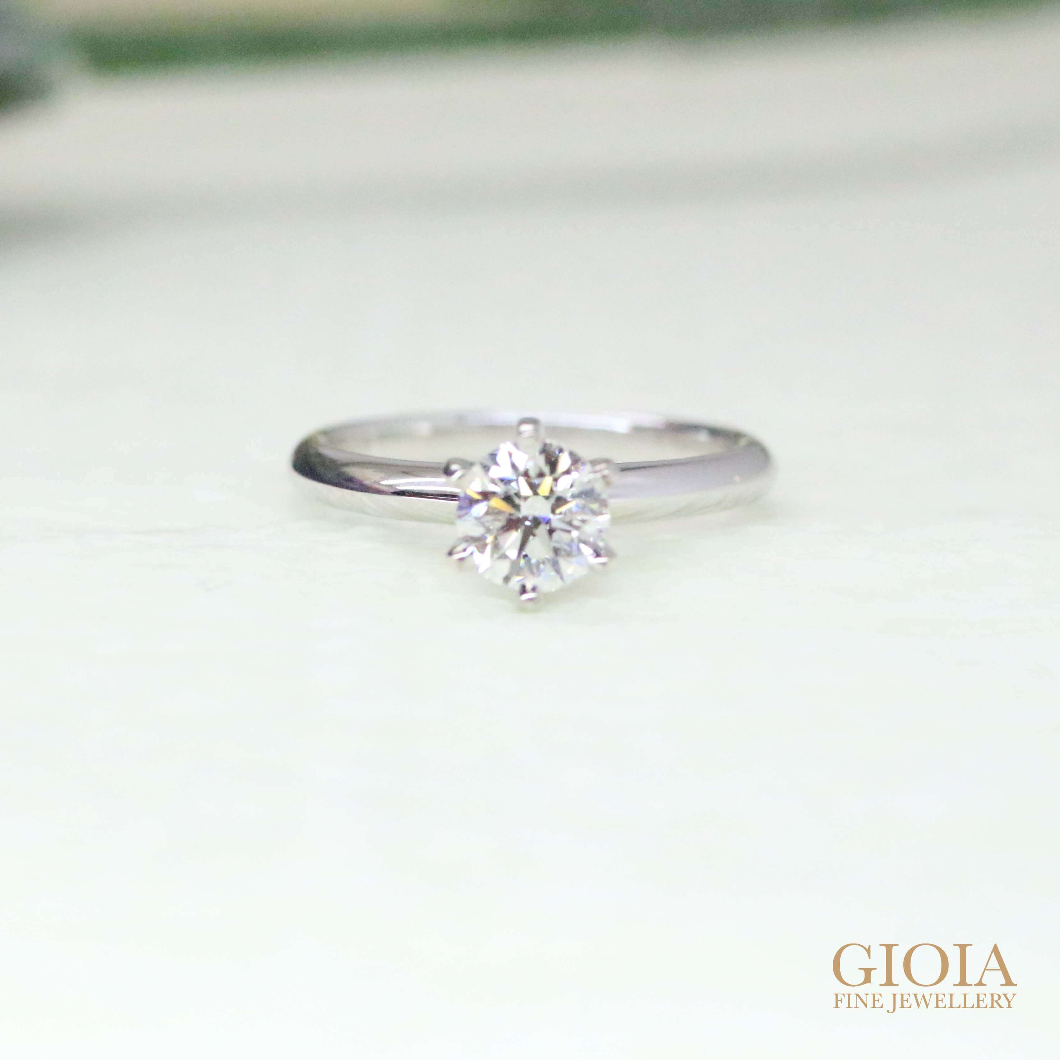 Diamond Ring for proposal ring - GIOIA Fine Jewellery