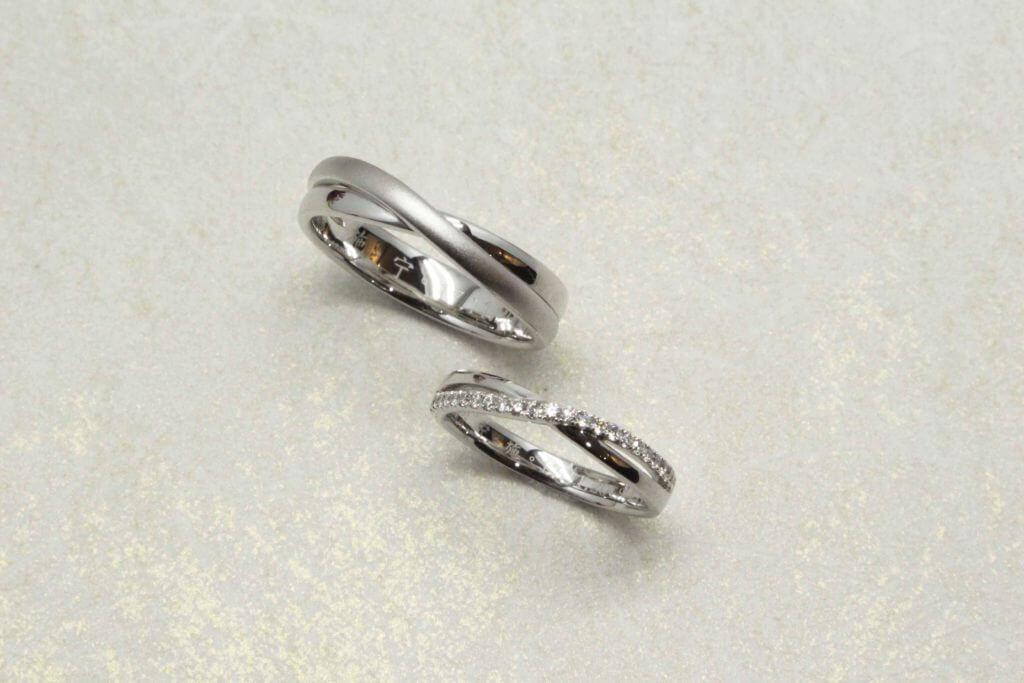 Customised Infinity Wedding Bands Brilliant Diamonds Singapore