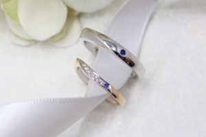 Customised Sapphire Wedding Bands, custom made to your style with unique design. Customised Wedding Bands with Blue Sapphire Gemstone   Local Jewellery in Customised Wedding Jewellery and Wedding Bands