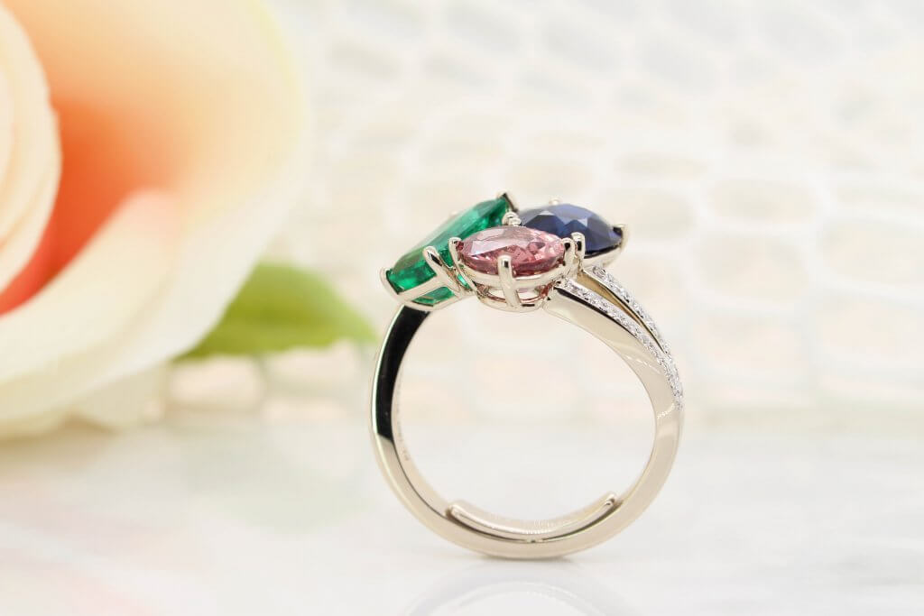 Family Cluster Ring - Heirloom Jewellery